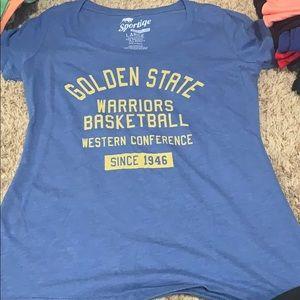 NWOT Warriors shirt
